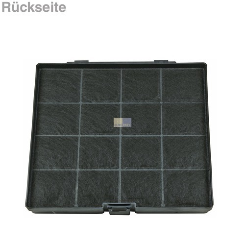 kohlefilter 241x225mm bauknecht 481281719203 von bauknecht philips whirlpool ignis ikea usw. Black Bedroom Furniture Sets. Home Design Ideas