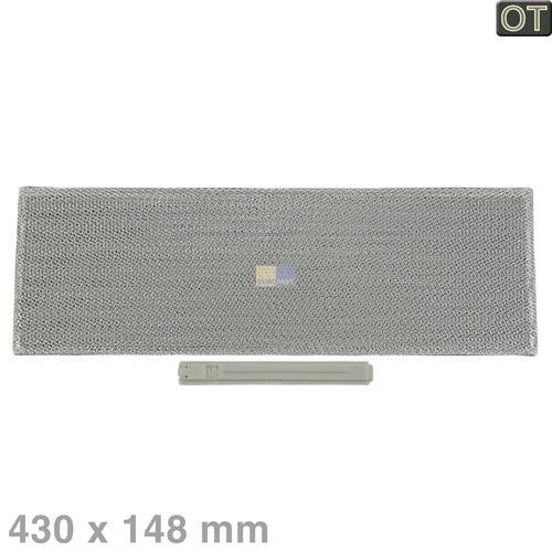 fettfilter eckig metall bauknecht 481948048287 von. Black Bedroom Furniture Sets. Home Design Ideas