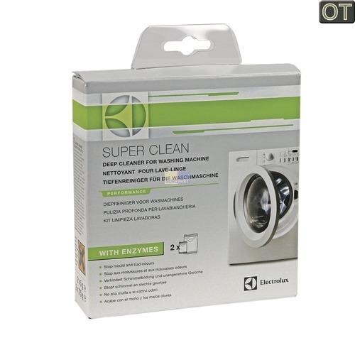 waschmaschinen reiniger electrolux supercleankit 902979326 von intelectra entkalken reinigen. Black Bedroom Furniture Sets. Home Design Ideas