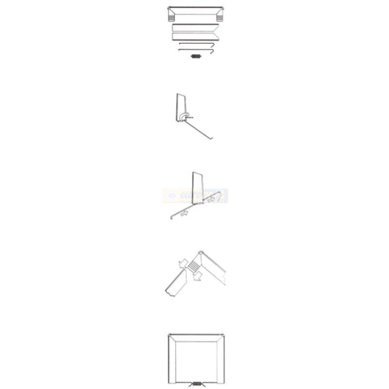 zwischenbaurahmen trockner auf waschmaschine universal von. Black Bedroom Furniture Sets. Home Design Ideas