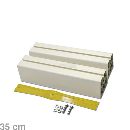 bodenst tze f r klimager te 90 x 80 x 350 mm von intelectra abluft zuluft technik. Black Bedroom Furniture Sets. Home Design Ideas