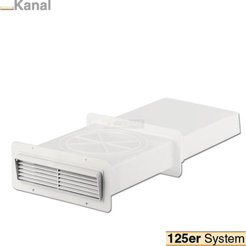 mauerdurchf hrung 125 mm system von intelectra abluft zuluft technik. Black Bedroom Furniture Sets. Home Design Ideas