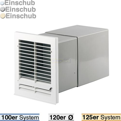 Mauerdurchfuhrung Ab Und Zuluft Mauerkasten O100 125mm Von